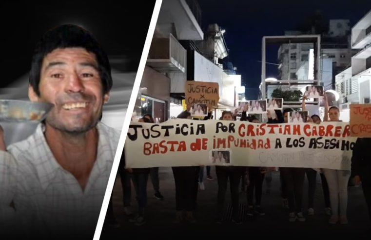 Marchan pidiendo justicia para Cristian Cabrera