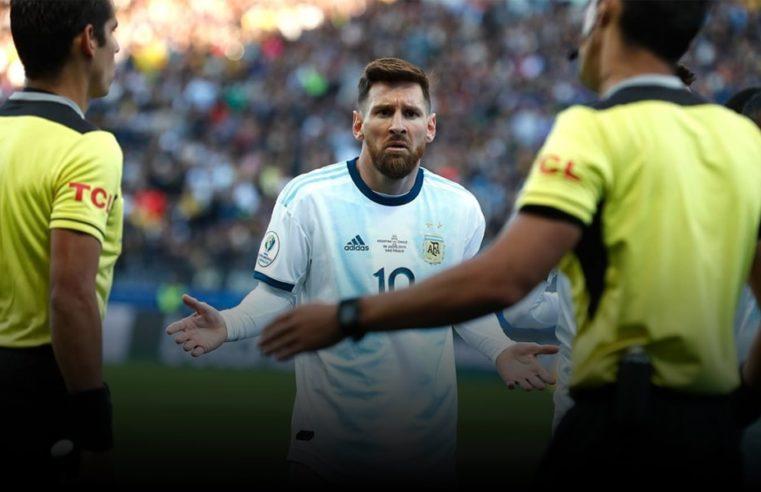 La Conmebol sancionó a Lionel Messi con un partido de suspensión y una multa económica