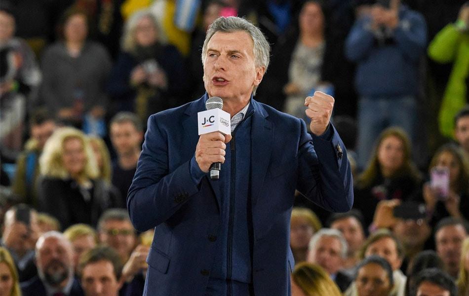 """Macri ante alumnos: """"Necesitamos juntar más votos"""""""