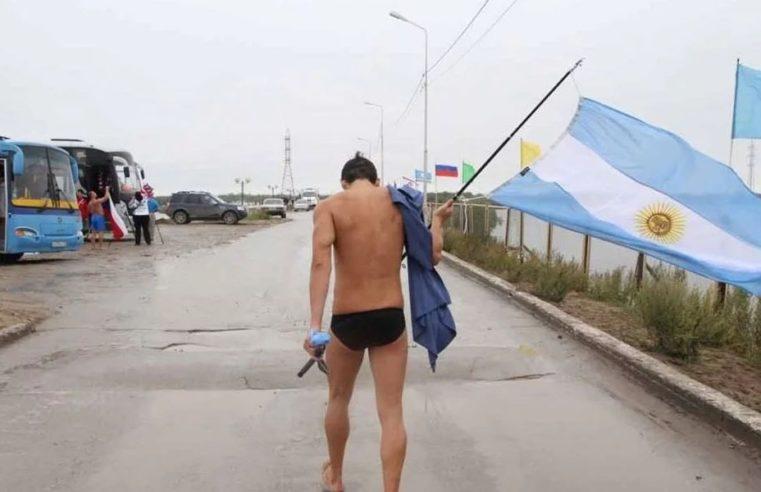 La hipotermia le impidió al argentino Matías Ola cruzar el Canal de la Mancha