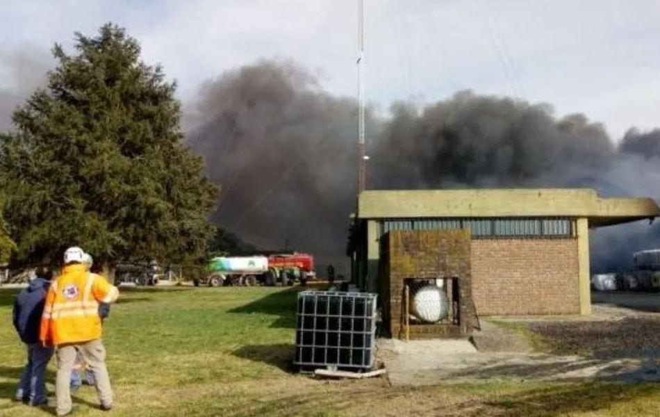 Mercedes: explotó una fábrica de agroquímicos y hay una víctima fatal