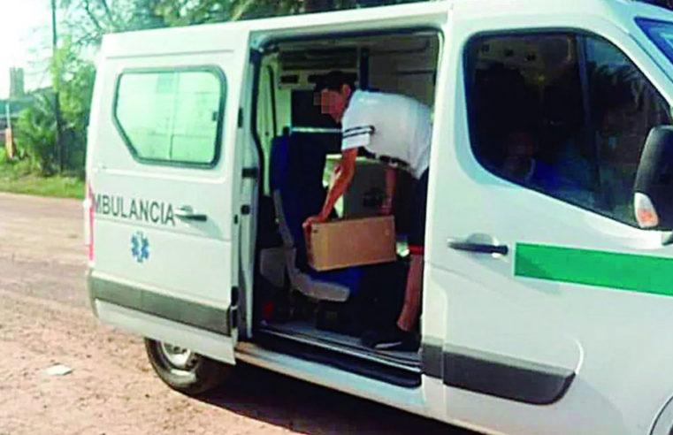 Santiago del Estero: usaban una ambulancia para llevarle fernet al hijo de un intendente